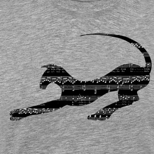 Musik - Premium-T-shirt herr