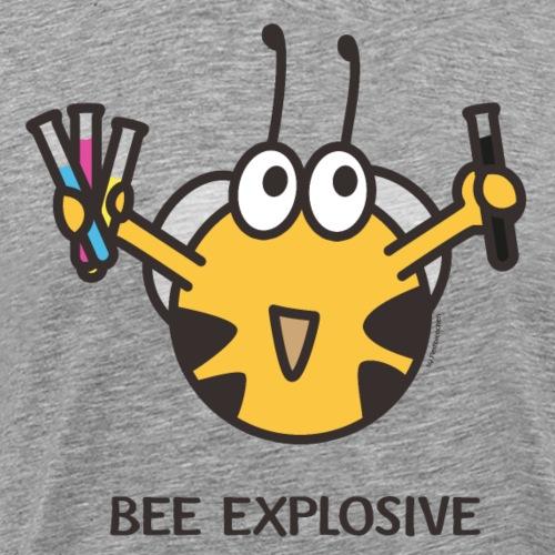 BEE EXPLOSIVE - Männer Premium T-Shirt