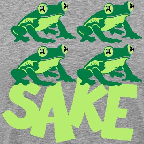 4 frogs sake - T-shirt Premium Homme