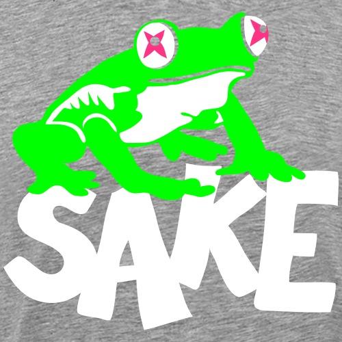 Frog Sake - tout seul - T-shirt Premium Homme