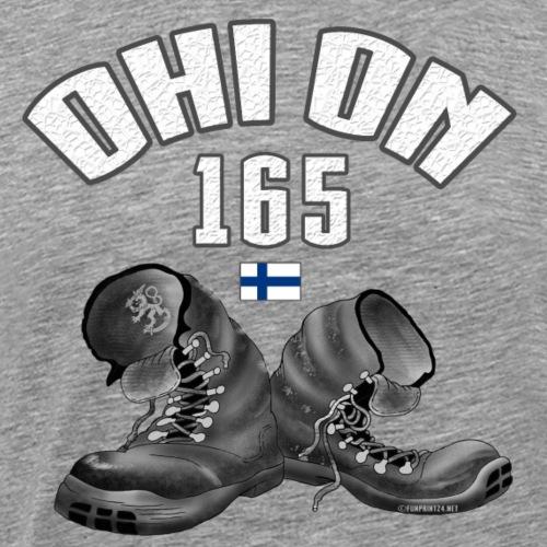 01-03 OHI ON 165 - SUOMEN ARMEIJA - Lahjatuotteet - Miesten premium t-paita