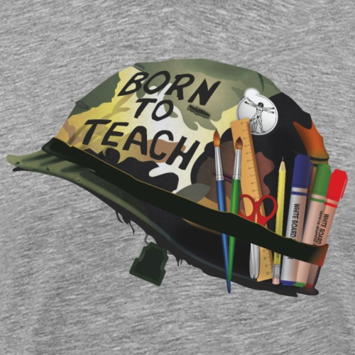 Born to teach (Arts Plastiques) - T-shirt Premium Homme