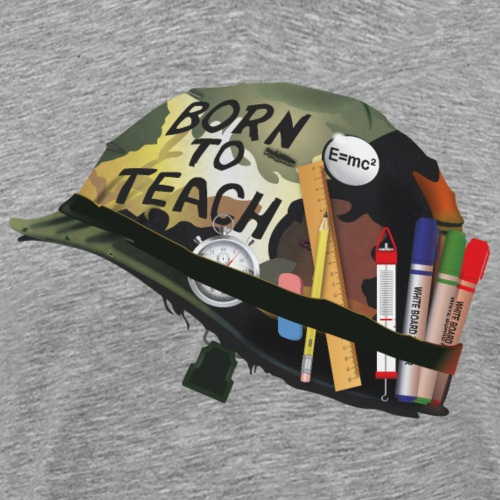 Born to teach science - T-shirt Premium Homme