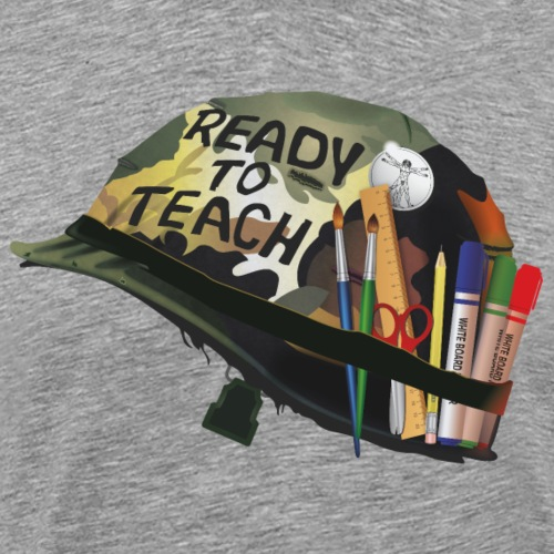 Ready to teach Art - T-shirt Premium Homme