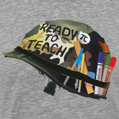 Ready to teach Maths - T-shirt Premium Homme