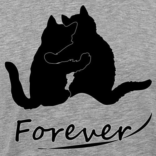 Koty forever - Koszulka męska Premium