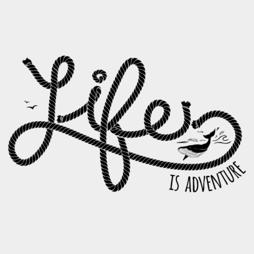 LIFE IS ADVENTURE #2 - Männer Premium T-Shirt