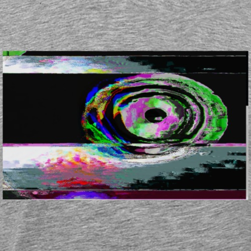 Glitchspiral - Men's Premium T-Shirt