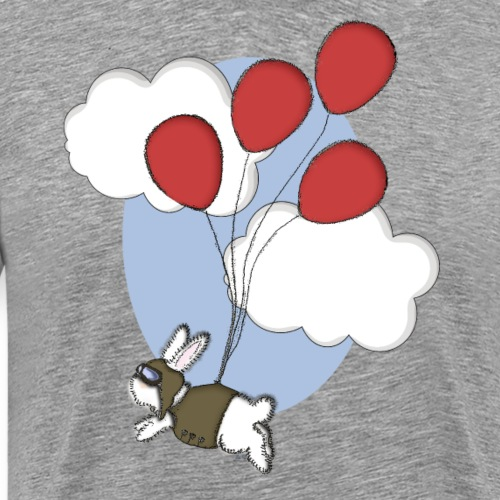Bunny aviator - Men's Premium T-Shirt