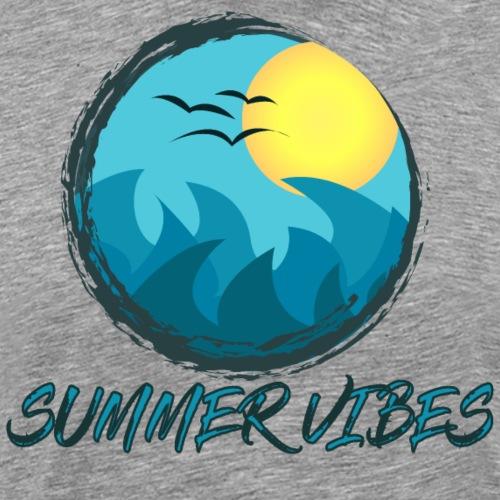 Summer Vibes - Maglietta Premium da uomo
