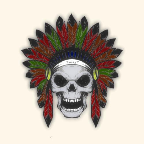 Indianer Skull - Männer Premium T-Shirt