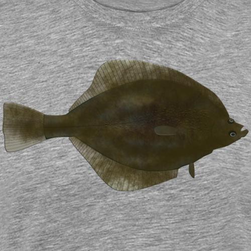 Flunder_Natur - Männer Premium T-Shirt