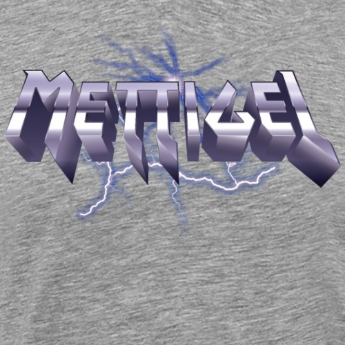 Mettigel Heavy Metal T-Shirt - Männer Premium T-Shirt