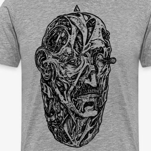 Egg (noir) - T-shirt Premium Homme