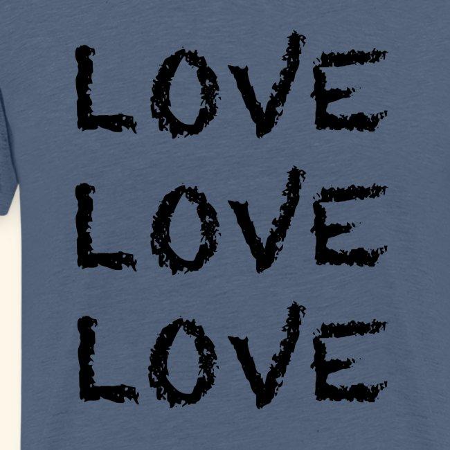 LOVE Black 001