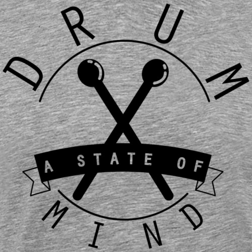 a state of mind drum_black