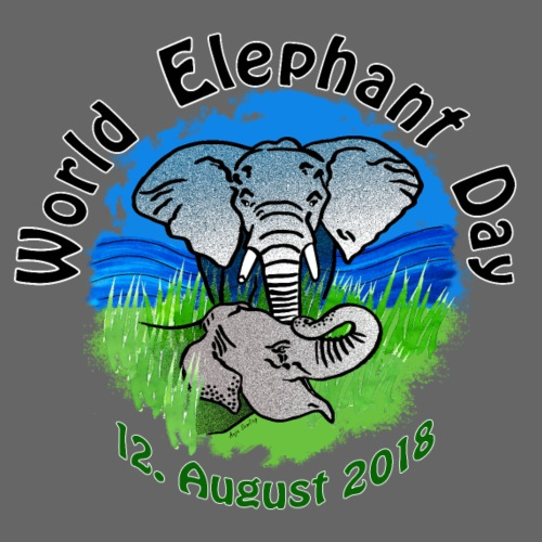 World Elephant Day 2018 - Männer Premium T-Shirt
