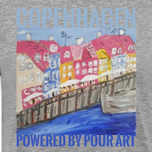 Nyhavn by pour - Herre premium T-shirt