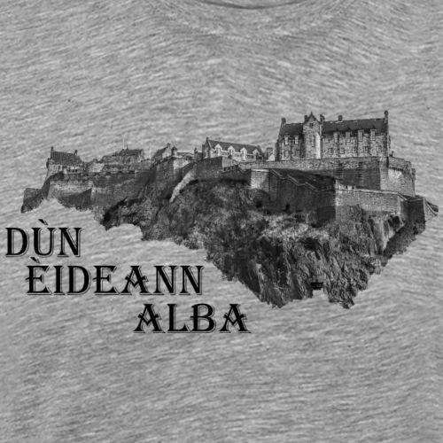 Dùn Èideann Alba - Edinburgh Castle Schottland - Männer Premium T-Shirt