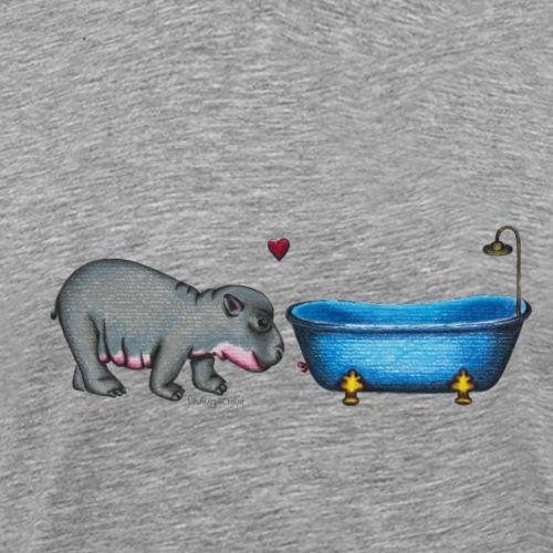 hippoinlove - Männer Premium T-Shirt