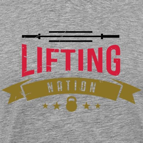 LIFTING NATION Germany - Männer Premium T-Shirt