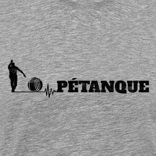 Pétanque Sport - Lustiger Schriftzug - Männer Premium T-Shirt