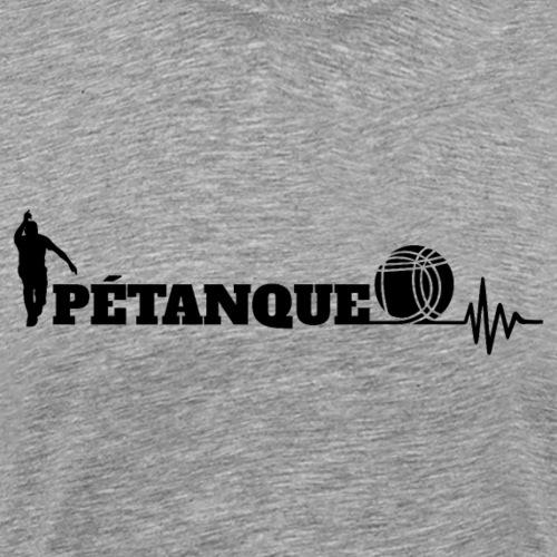 Pétanque Sport Schrft T-Shirt - Männer Premium T-Shirt