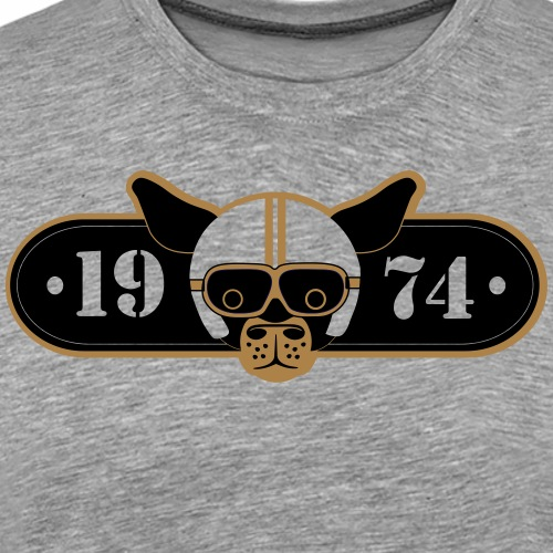 BDMCC 1974 Long Dog - Men's Premium T-Shirt