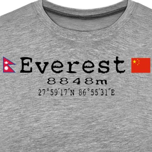 EVEREST - Maglietta Premium da uomo