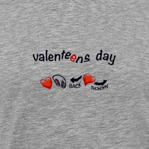 valenteens day - Men's Premium T-Shirt