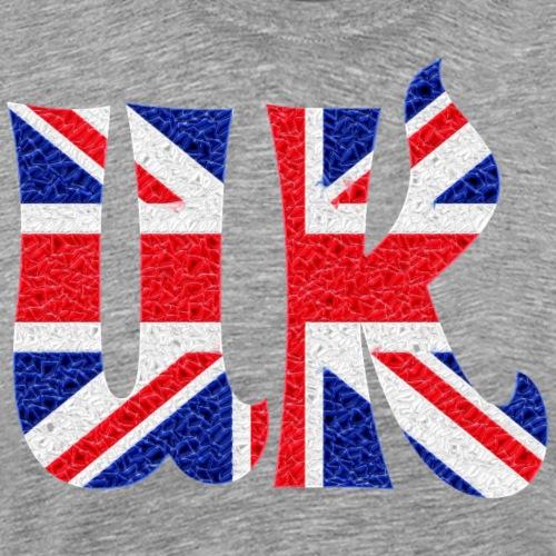 UK flag crystal - Men's Premium T-Shirt