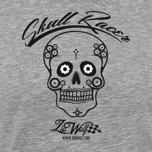 Skull Racer - ZioWolf - Maglietta Premium da uomo