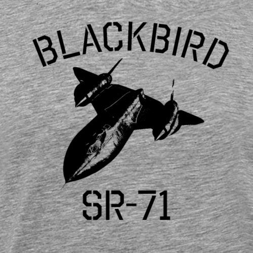 Blackbird SR-71 Spy Plane - Premium T-skjorte for menn