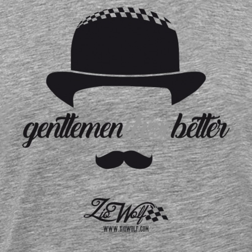 Gentlemen Drive Better (racing) - ZioWolf - Maglietta Premium da uomo