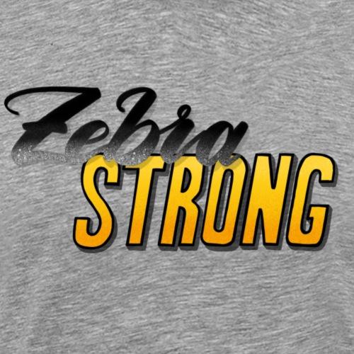 Zebra Strong - Männer Premium T-Shirt