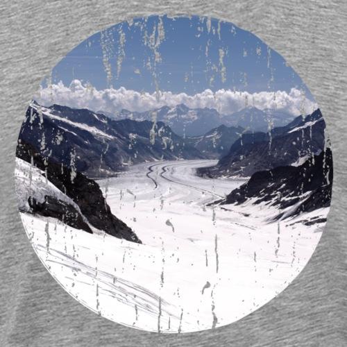 Aletschgletscher - Männer Premium T-Shirt