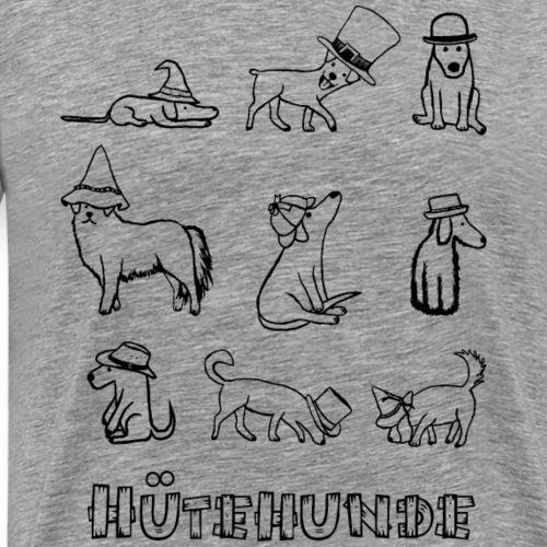 Hütehunde Hunde mit Hut Hundezüchter - Männer Premium T-Shirt