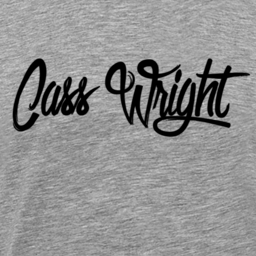 cass wright signature hoodie - Men's Premium T-Shirt
