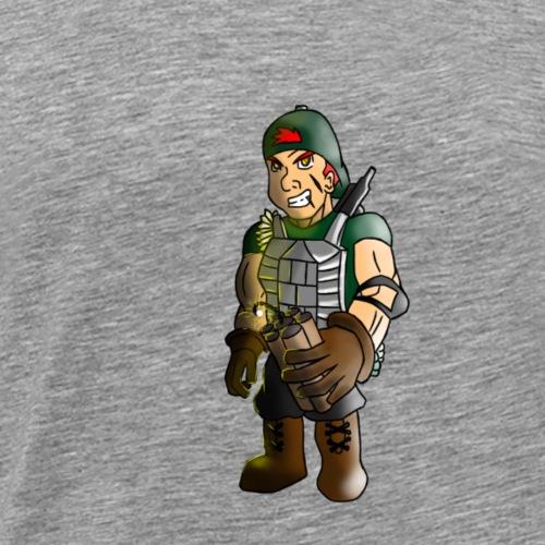 C4 Character - Men's Premium T-Shirt