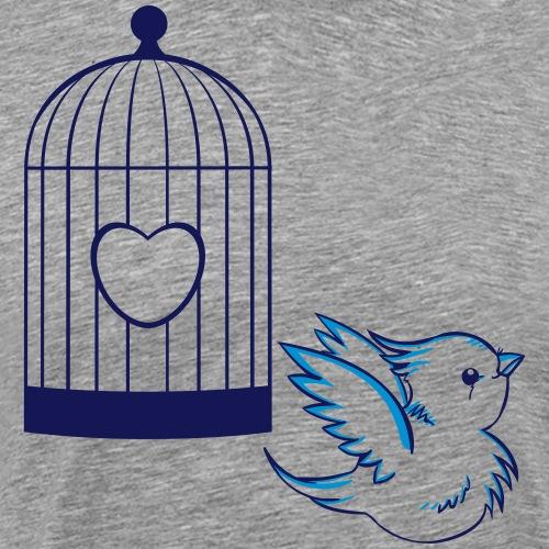 vogelkäfig - Männer Premium T-Shirt