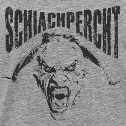 Percht Schiachpercht Shirt Geschenk - Männer Premium T-Shirt
