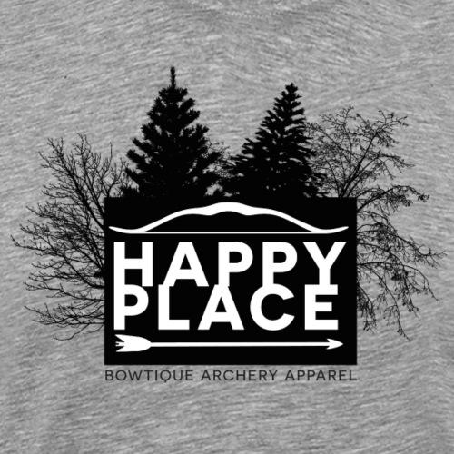 Happy Place (Bogenschießen by BOWTIQUE) - Männer Premium T-Shirt