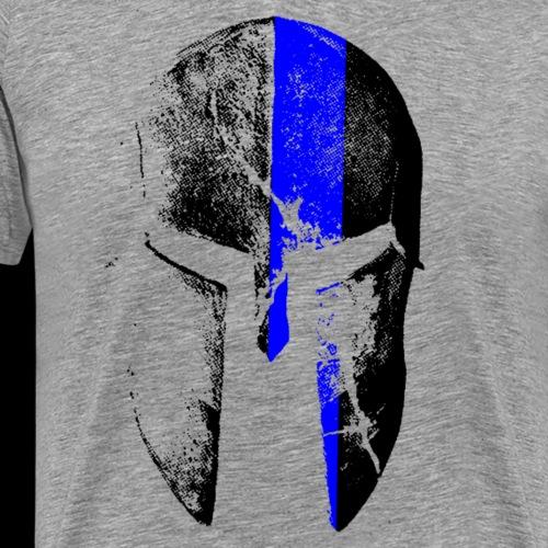 blue line spartan - Männer Premium T-Shirt