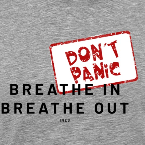 BREATHE IN BREATHE OUT - Men's Premium T-Shirt