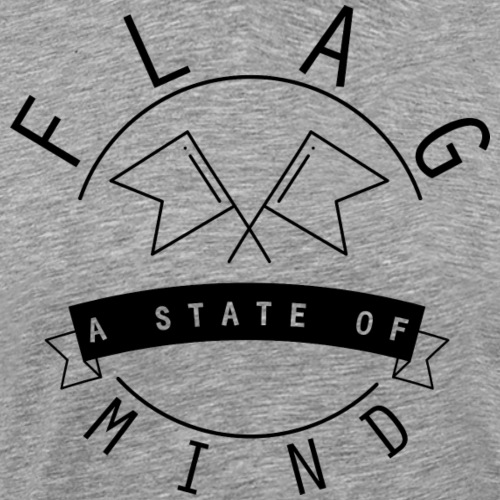 a state of mind flag black