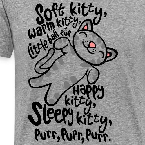soft kitty - Mannen Premium T-shirt