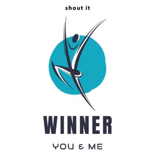 Winner you and me - Männer Premium T-Shirt