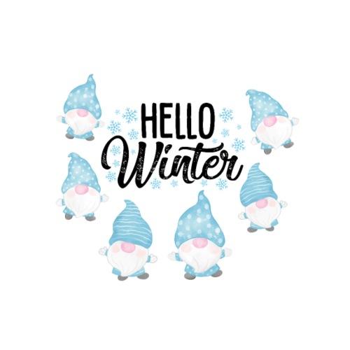 Hello Winter Gnomen - Männer Premium T-Shirt