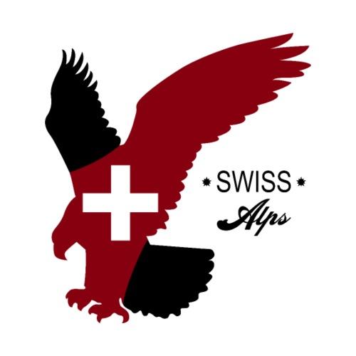 Schweizer Alpen - Männer Premium T-Shirt