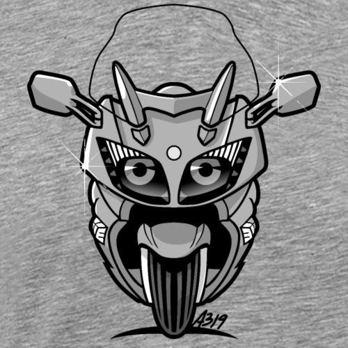 FJR grijs - Mannen Premium T-shirt